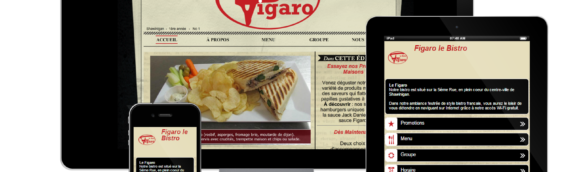 Site Internet – Figaro Le Bistro