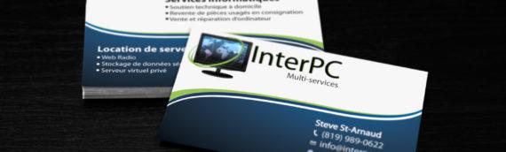 Carte d'affaires – InterPc Multi-services